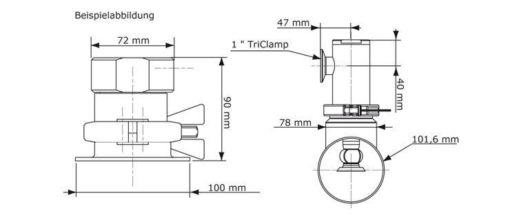 GEA Breconcherry Retraktor MR1 Abmessungen