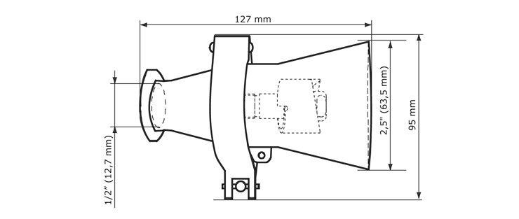 GEA Breconcherry Turbo CW 25 Abmessungen