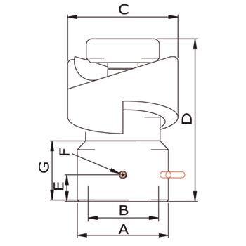 GEA Breconcherry Turbodisc Zeichnung Abmessungen